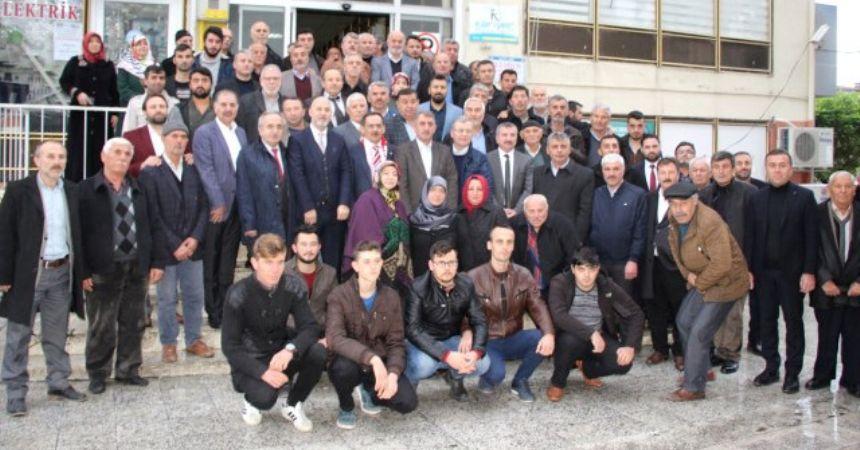 AKP adayı Demir Havza'da