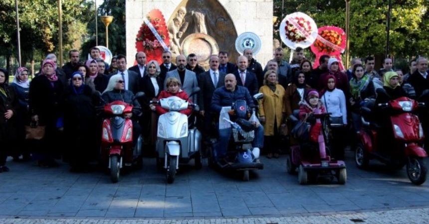 Samsun'da Dünya Engelliler Günü