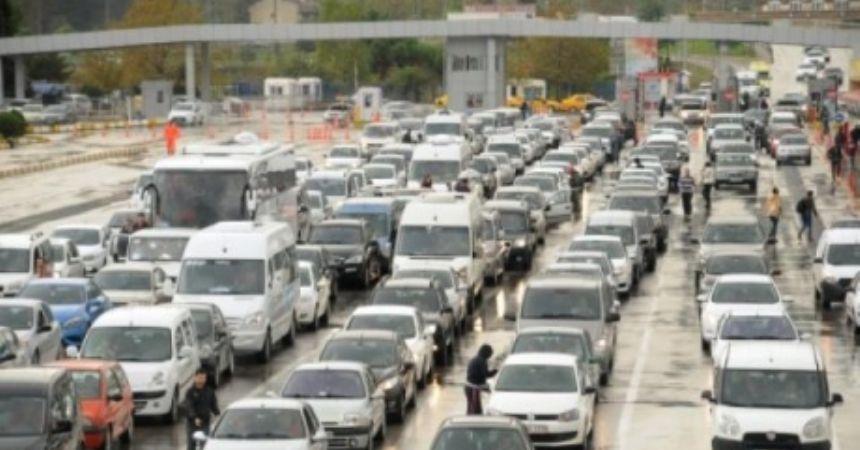 Samsun'da taşıt sayısı artıyor