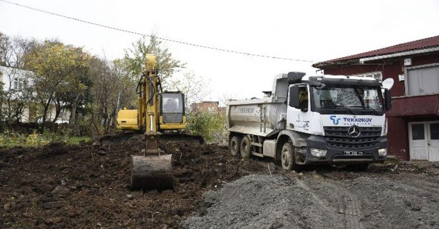 Tekkeköy'de doğalgaz müjdesi