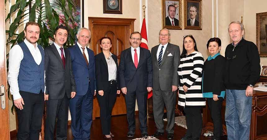 Başkan Şahin'e Balkan teşekkürü