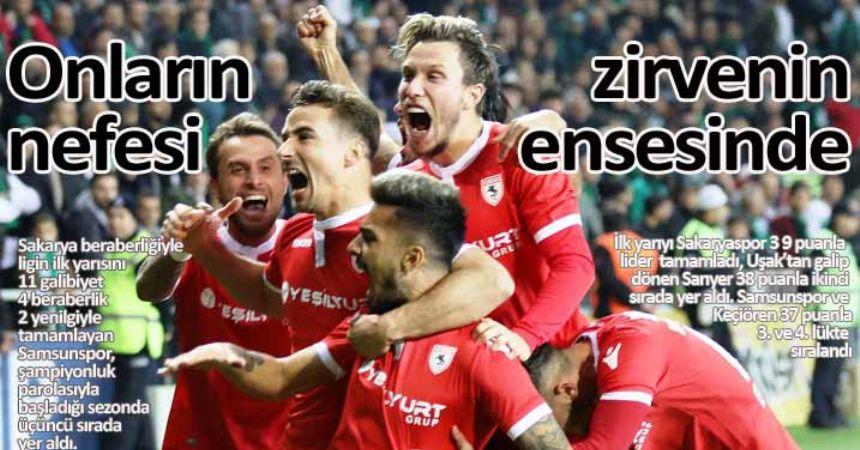 Samsunspor ikinci yarıyı bekliyor