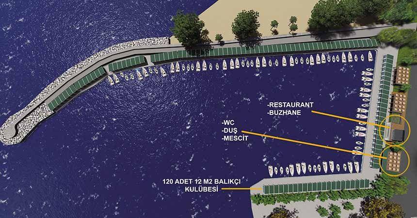 Balıkçı barınakları modern olacak