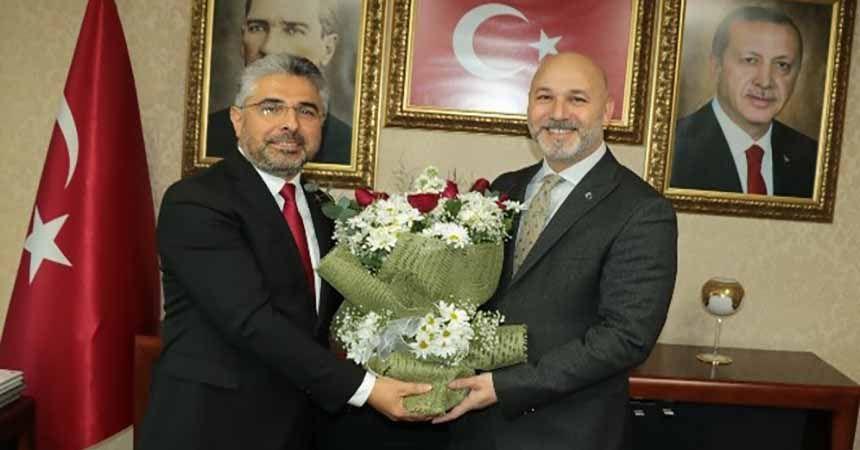 Samsun AK Parti'de devir-teslim