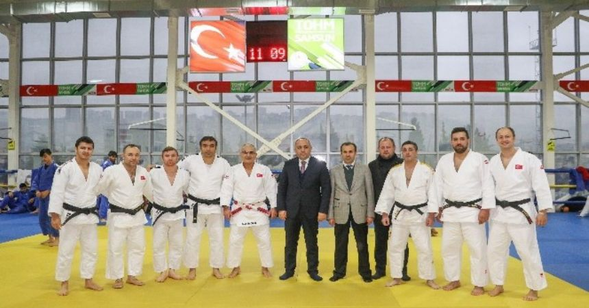 Judo ortak çalışma kampı