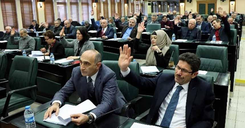 Samsun meclisinde 'Cumhur İttifakı'