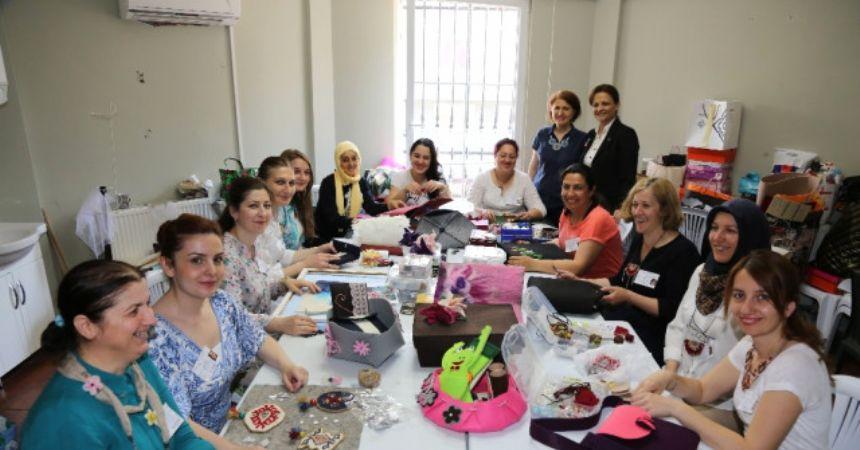 Atakum'da kadınlara istihdam desteği