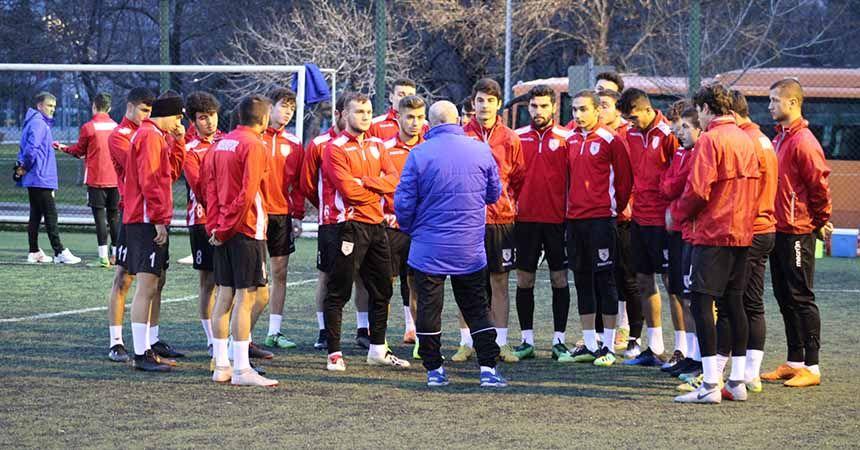 Samsunspor U19 taktik çalıştı
