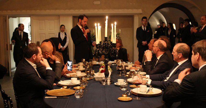 Davos'ta Türkiye'ye ilgi büyük!