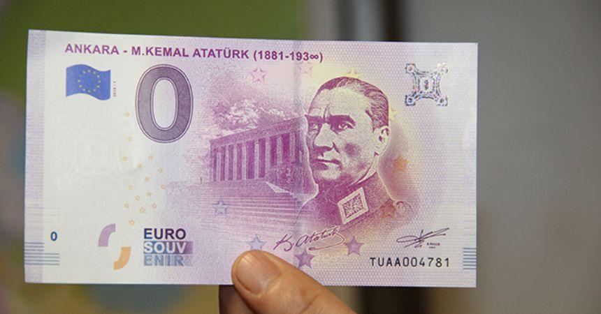 Atatürk resimli 'Euro'
