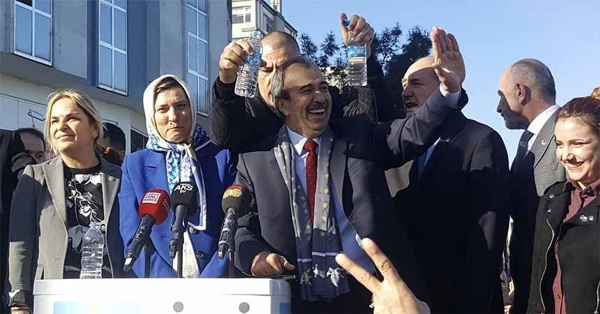 'Büyükşehir'i Saray değil, Samsunlular yönetecek'