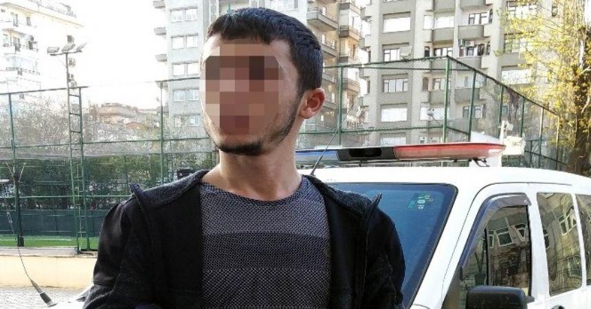 Uyuşturucuyu karısının çantasına sakladı