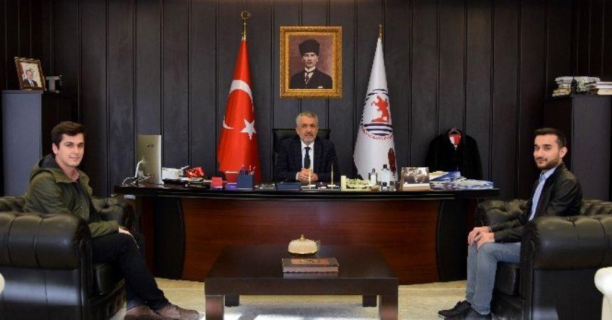 Türkiye birincisi OMÜ mezunu