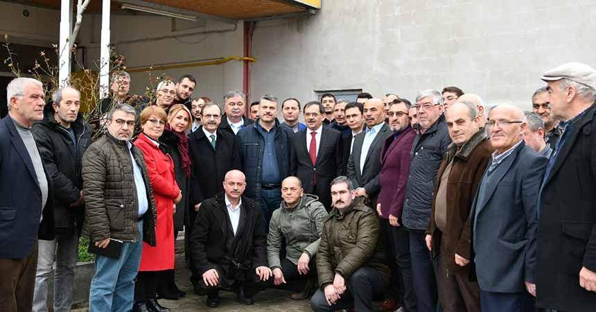 Şahin'den sosyal gelişim projeleri