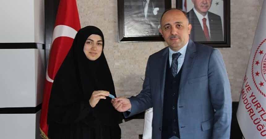 Türkiye birincisi Samsun'dan