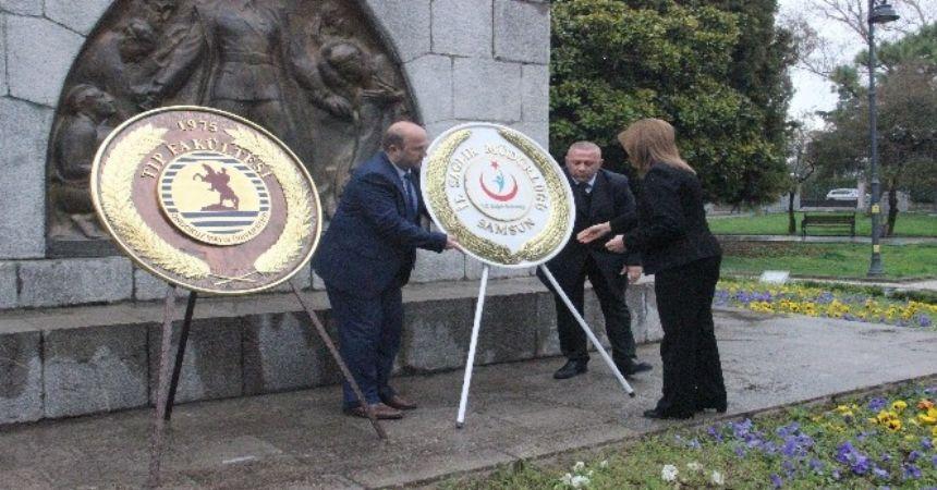 Samsun'da tıp bayramı