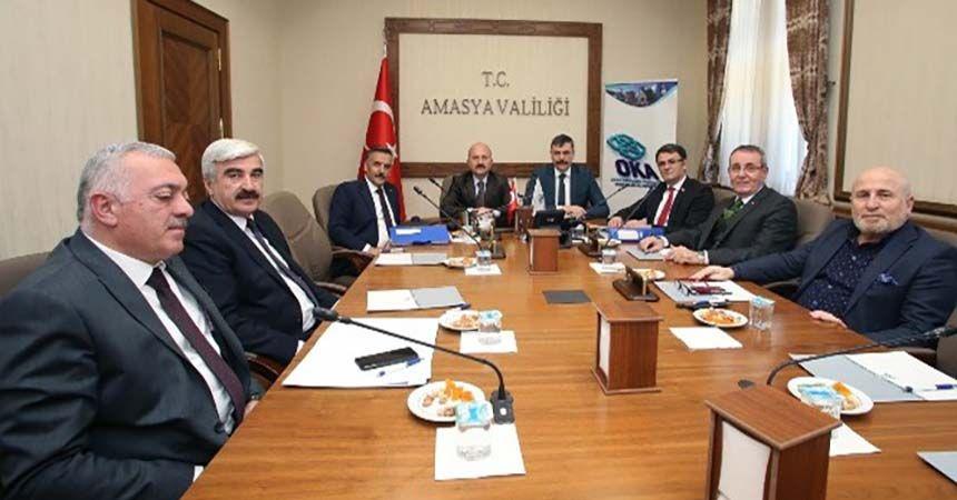 OKA yönetimi Amasya'da toplandı
