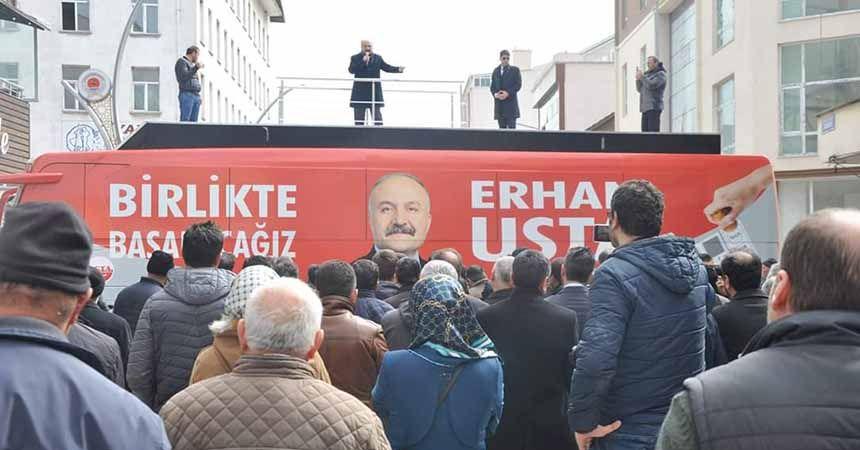 Usta: Demokrasi ateşini Samsun yakacak
