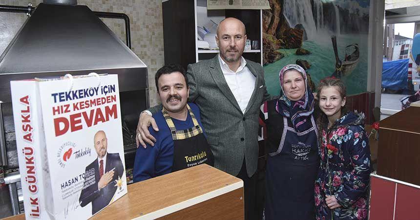 'Yüreğimizde sadece Tekkeköy var'