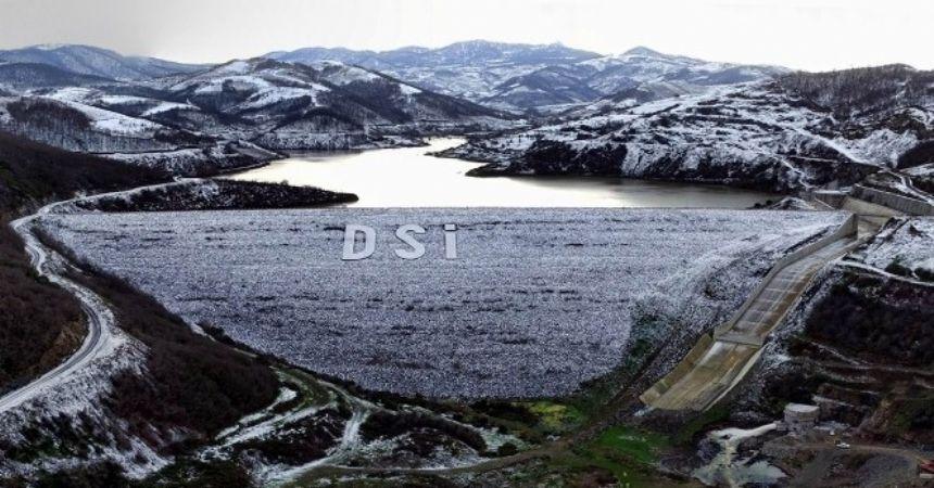 Dağköy barajında sona gelindi