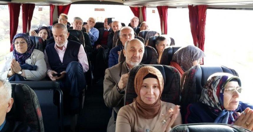 Gaziler Kıbrıs yolunda