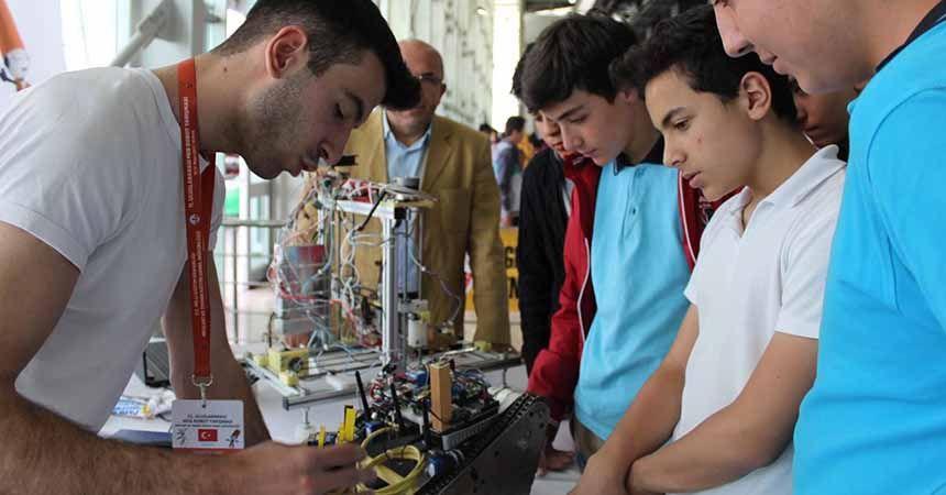 Samsun'da robotlar yarışacak