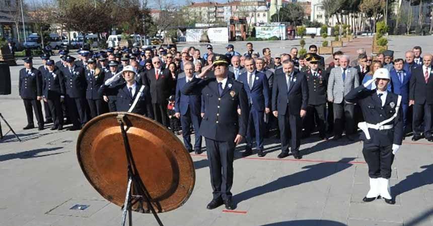 Bafra'da Polis Haftası töreni