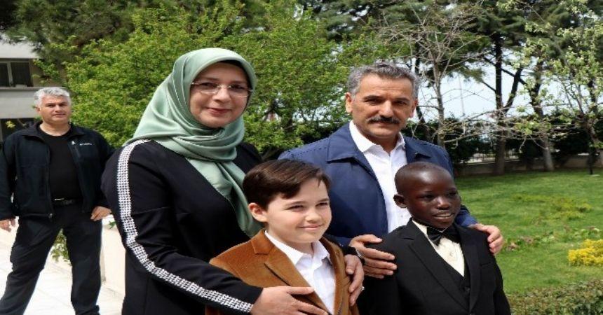 Dünya çocukları Samsun'da
