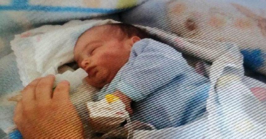 25 günlük bebeğin acı sonu