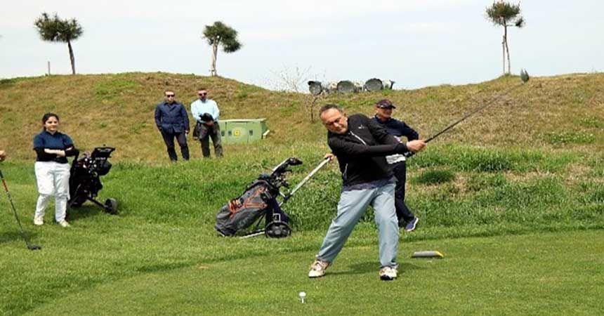 Golfün yıldızları Samsun'da
