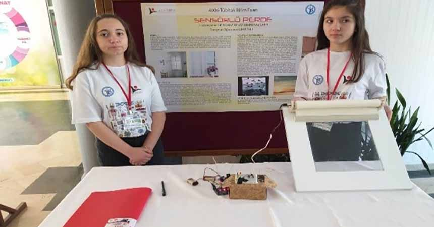 Ortaokulda bilim fuarı şenliği