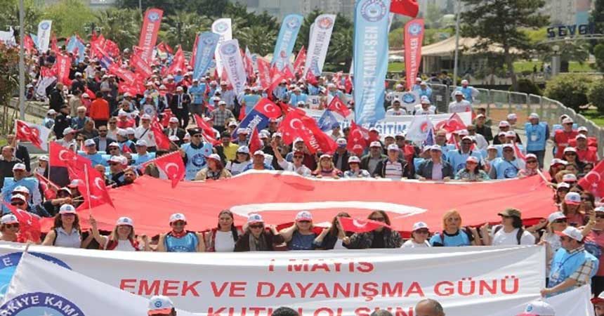 Samsun'da '1 Mayıs' coşkusu