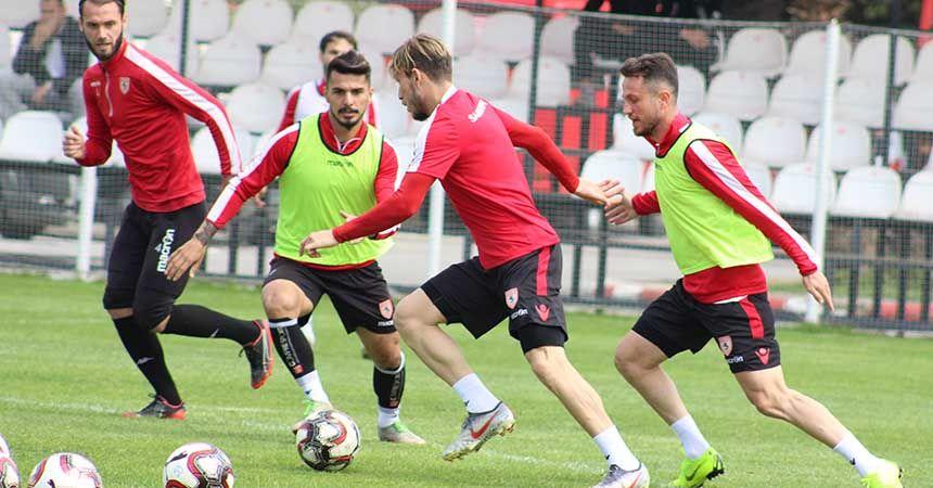 Yılport Samsunspor son antrenmanını yaptı