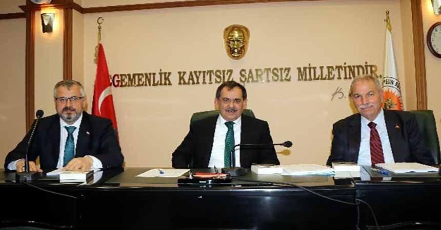 Mecliste gündem Samsunspor