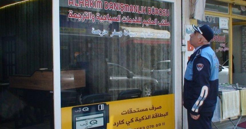 Arapça tabelalar iniyor