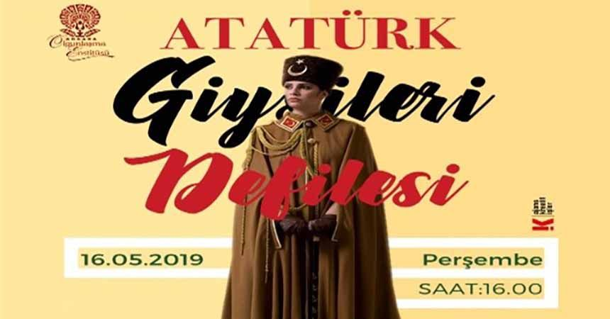 Atatürk giysileri podyuma çıkıyor