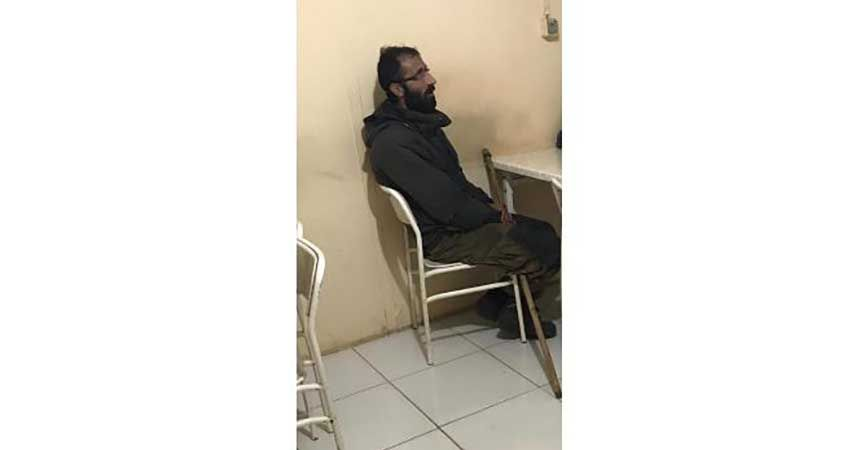 İşte o teröristin yakalandıktan sonra çekilen ilk fotoğrafı