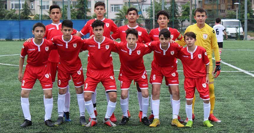 Samsunspor U14 farklı başladı