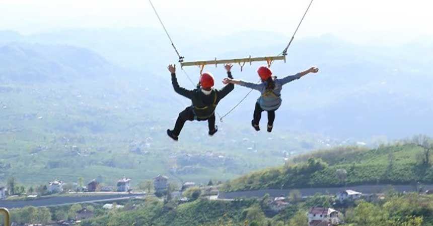 Macera Park adrenalin merkezi oluyor