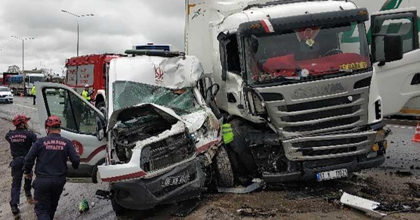 Trafik kazalarında acı bilanço