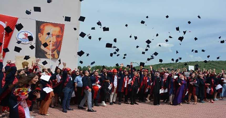 Havza MYO'da mezuniyet coşkusu