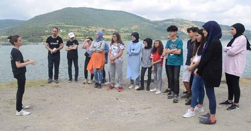 Liseli gençler Bafra'yı dünyaya tanıtacak