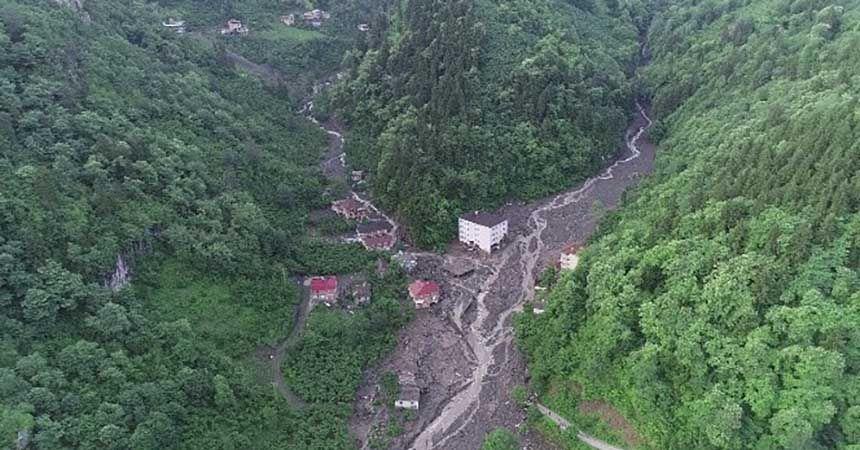 Doğu Karadeniz'in 90 yıllık afet bilançosu: 644 ölü