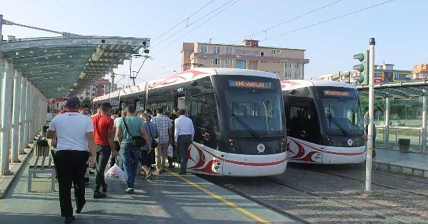 Tramvay artık OMÜ kampüsünde