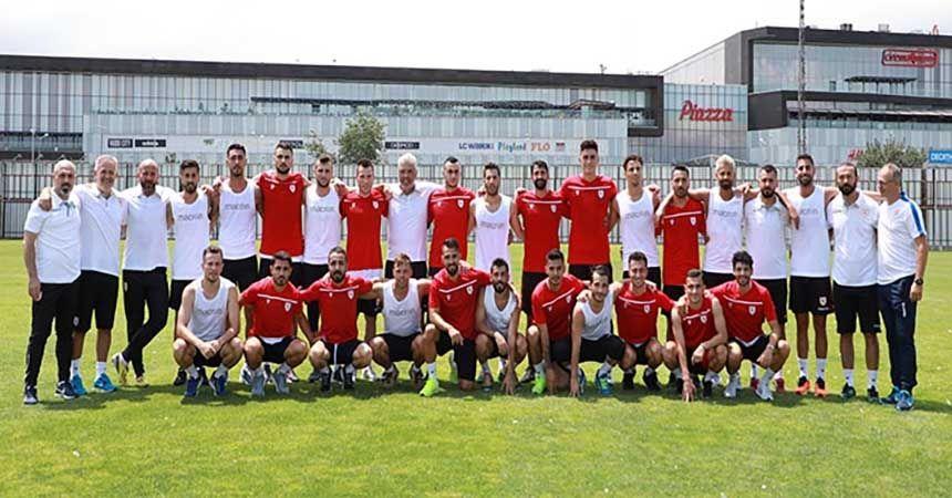 Samsunspor sezonu açtı