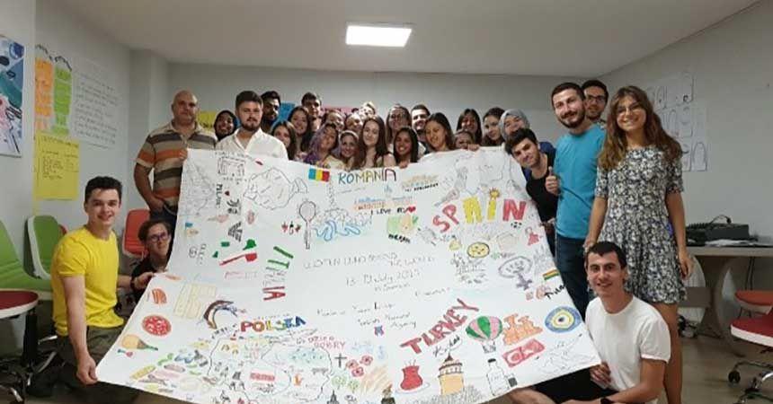 Avrupalı gençler Samsun'da
