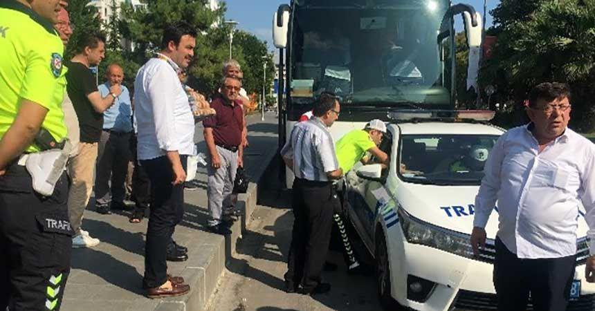 Tur otobüslerine 'park' cezası