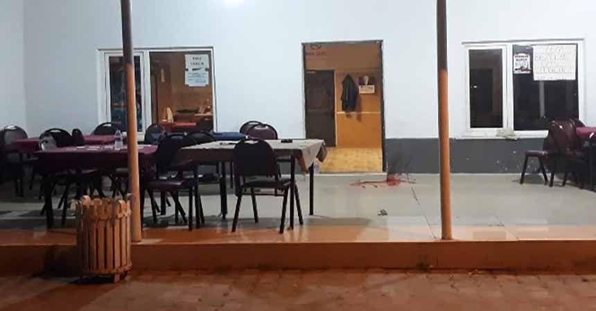 Alaçam'da kahvehane baskını: 1ölü, 1 yaralı