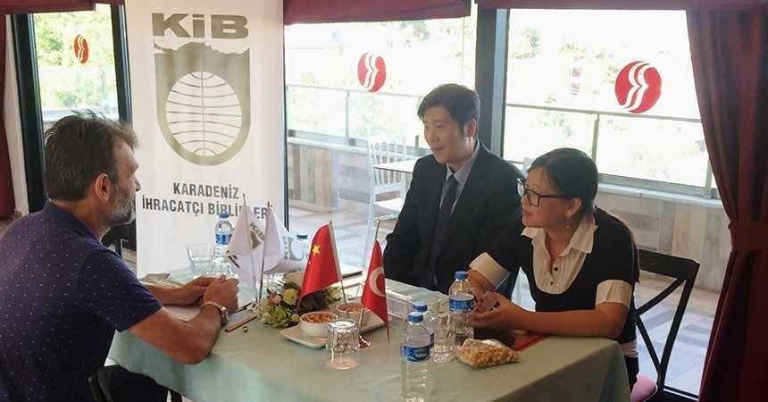 Çinli heyet fındık için Karadeniz'de