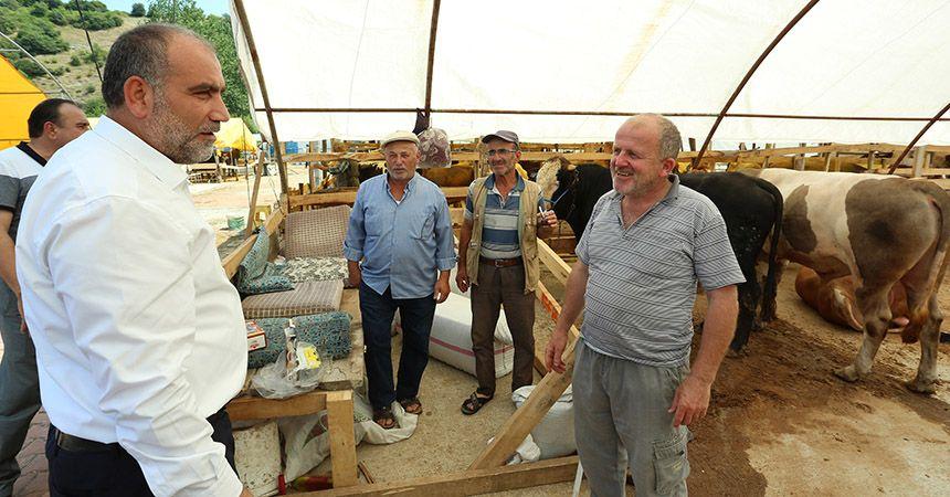 Canik'te kurban pazarı hazır